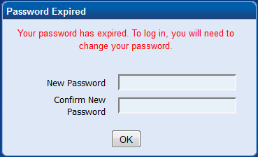 Enter Your New Password In Both Fields And Click Ok