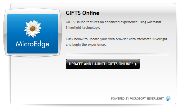 Click The Update And Launch Gifts Online On To Begin Direct Of Silverlight From Microsoft